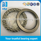 Chrome Steel 25 Balls Thrust Ball Bearing 51120 Good Performance