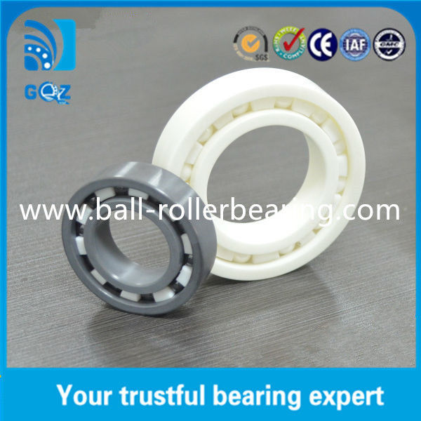 C2 C3 Clearance Miniature Ceramic Ball Bearings , Motorcycle Ceramic Bearings