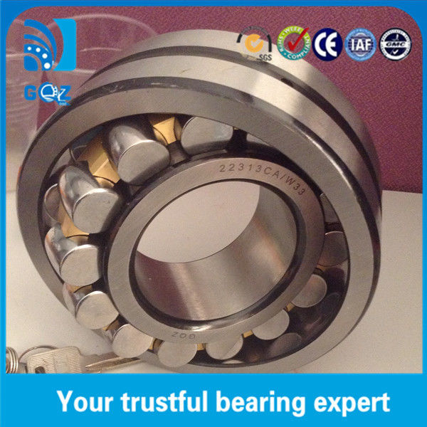 Brass Cage Oil Groove Spherical Roller Bearing 22313CA/W33 3800 r/min Speed