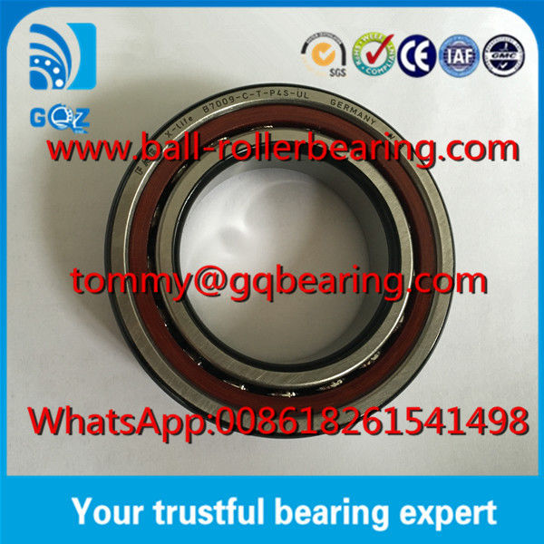 45*75*16mm Dimension Bakelite retainer FAG B7009-C-T-P4S-UL Spindle Bearing