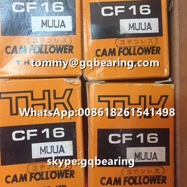 Japan Origin THK CF16MUUA Stainless Steel Material Cam Follower Bearing