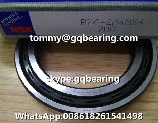 Gcr15 Steel Material NSK B76-2 B76-2ANX4 Nylon Cage Automotive Deep Groove Ball Bearing