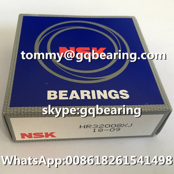 Chrome Steel Material Japan Factory NSK HR32008XJ Tapered Roller Bearing