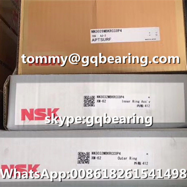 P4 Precision NSK NN3032MBKRCC0P4 Full Complement Cylindrical Roller Bearing