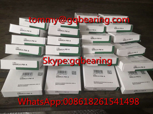 Gcr15 steel Material Germany Origin INA GAKL14-PW-A Rod End Bearing GAKL14- PW- A Spherical Plain Bearing
